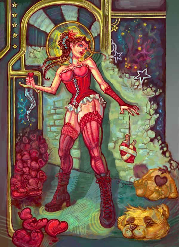 Scarlett LS. Valentine