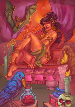 Orange Snake Princess