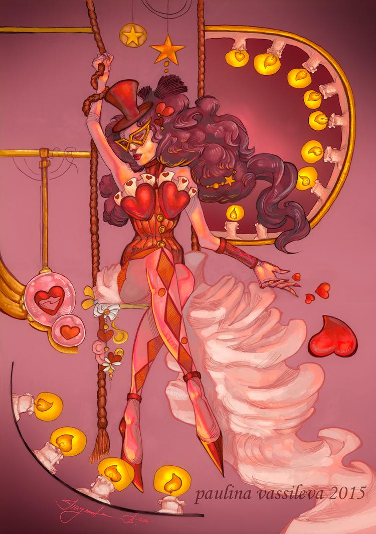 Heart.clown by pauscorpi