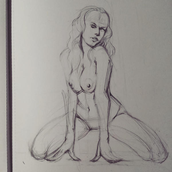 Nude Study by pauscorpi