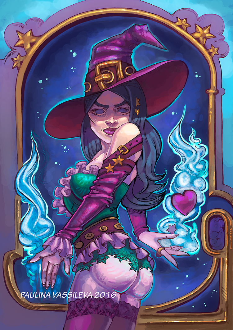 Witch Heart by pauscorpi