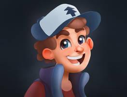 Gravity Falls - Dipper Pines by Arty-Adam