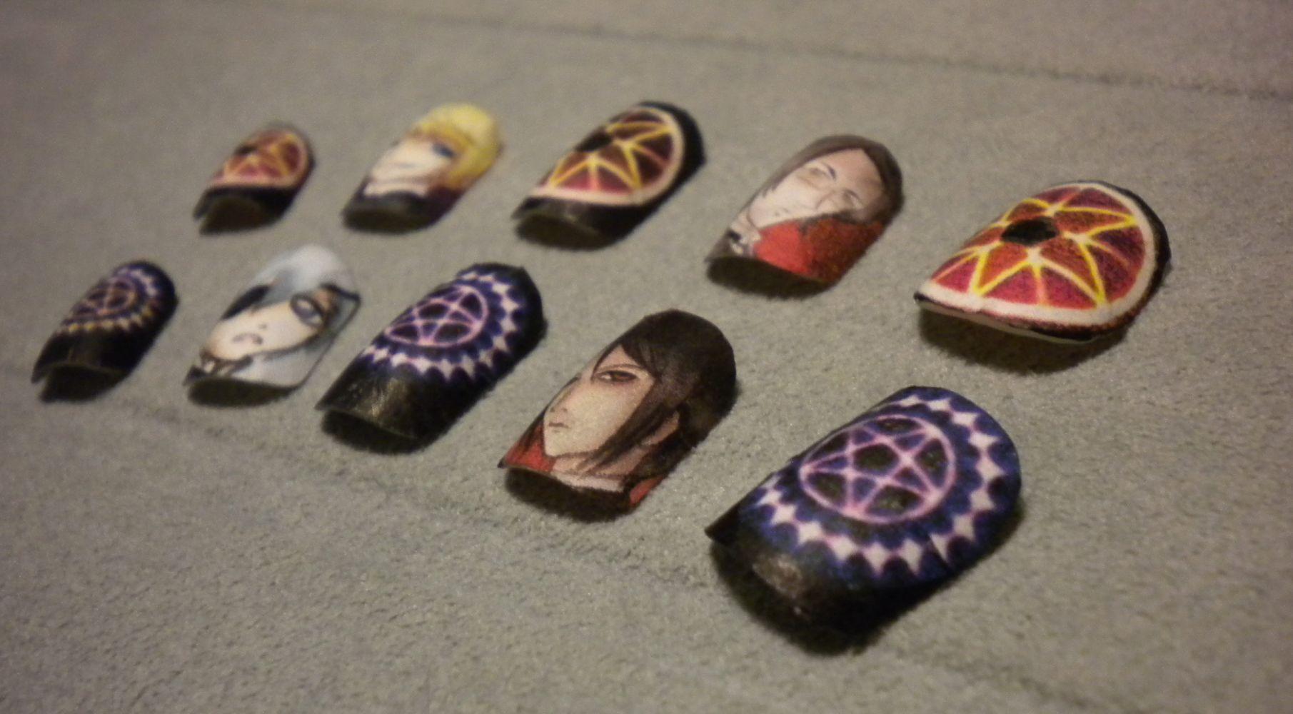 Anime Nail Art Tutorial - intellego