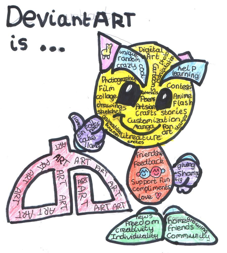 Deviantart is...... by zozzy-zebra