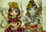 Durga Shakti and Lord Shiva