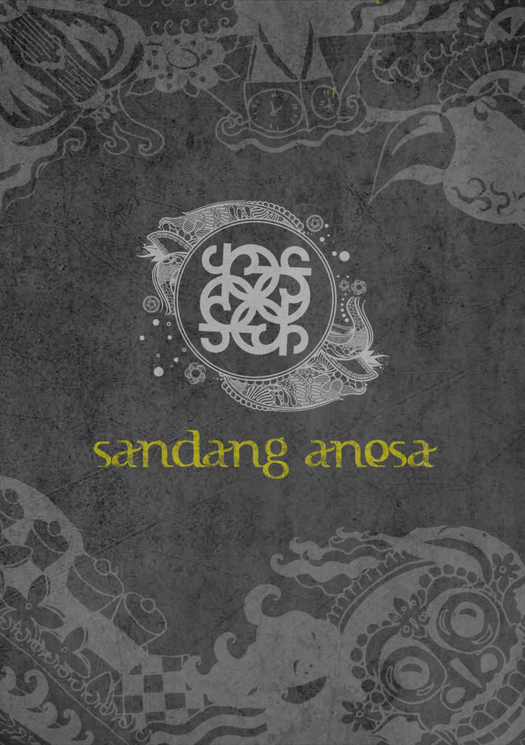 Sandang Anesa, Indonesian brand cover booklet. by art-rinay