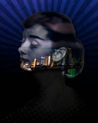 Audrey Hepburn Conceptual Art by zandrasandoval