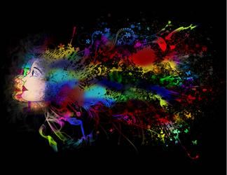 Color splash by zandrasandoval