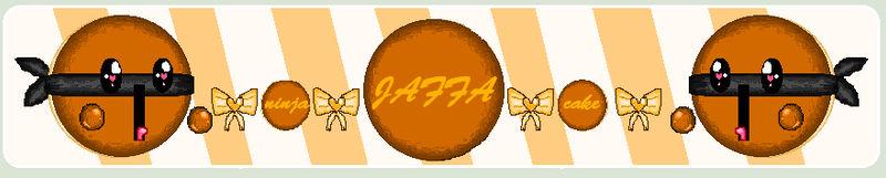 Pixel Art - Ninja Jaffa Cake Icon