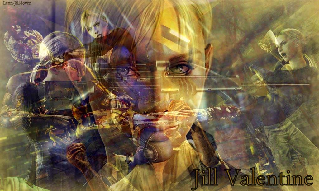 Jill Valentine by Leon-Jill-lover