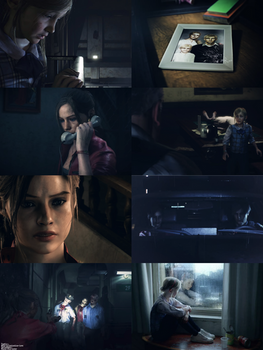 Resident Evil 2: Claire Redfield and Sherry Birkin