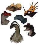 A bunch of Headshots