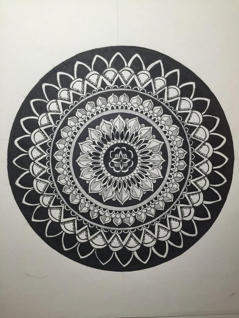 Mandala  by kseniabykova