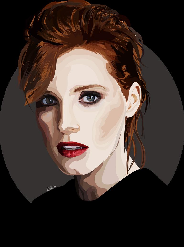 Jessica Chastain by kseniabykova