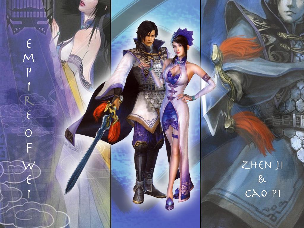 Cao Pi and Zhen Ji by kyokosan