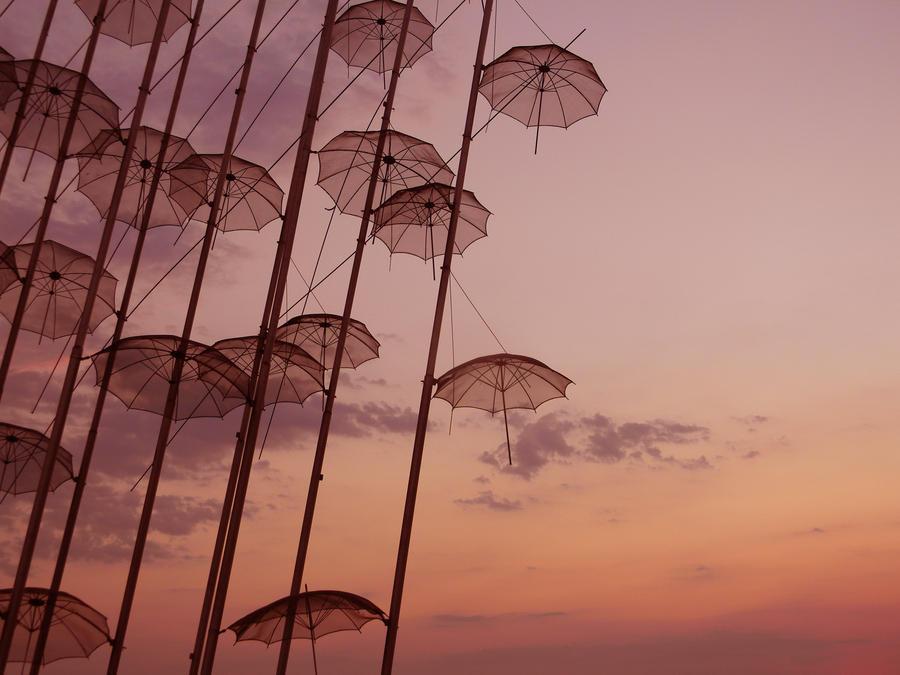 thessaloniki's umbrella by tsoube