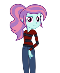 AU Sunny Flare Outfit as Nightosphere Shadowbolts by Fiddlesticks420