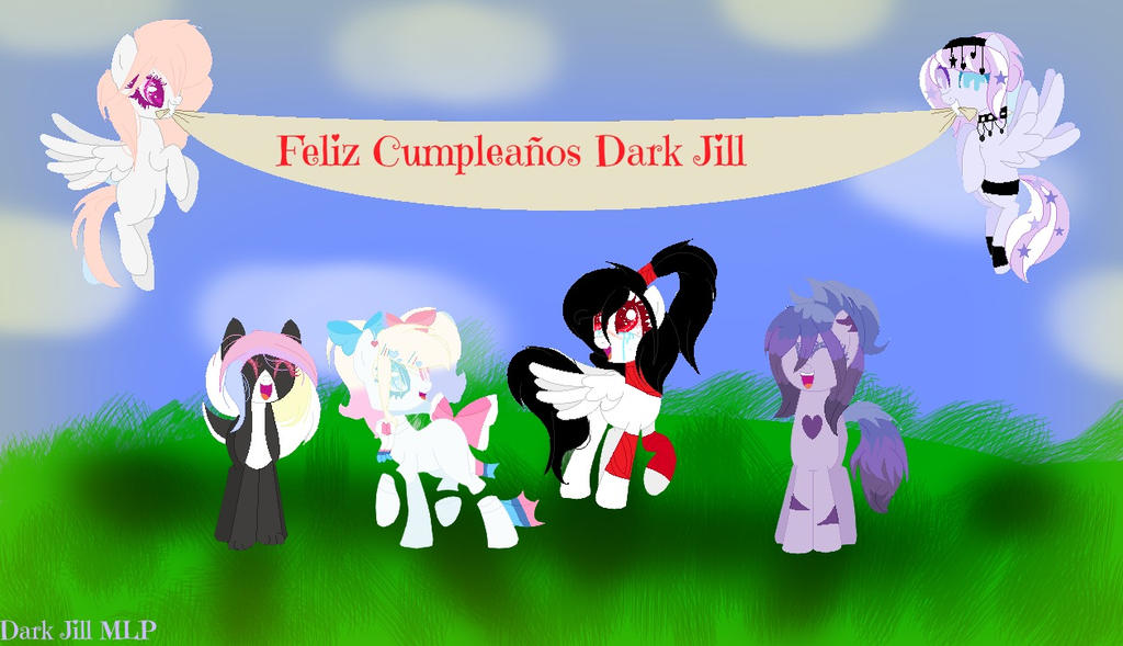 feliz cumpleaos dark jill mlp base by