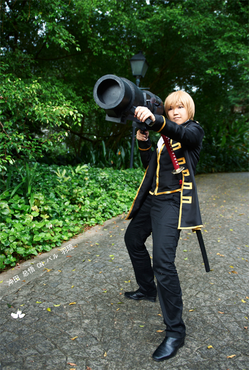 Gintama: Okita Sougo by cloverchakra