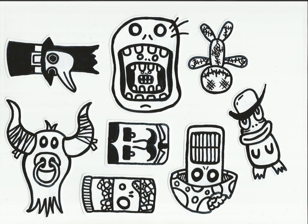 Sticker by Fobiart