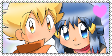 Stamp - Twinleafshipping by Pokefan181