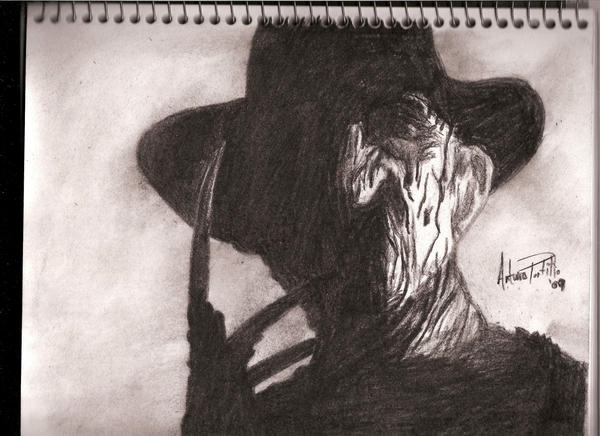 freddy krueger wallpaper. Freddy Krueger In The Shadows