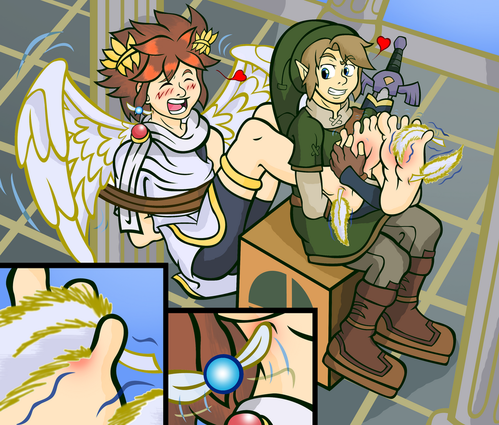 Pit vs. Link (and Navi!) - Color by Shadow-Aspect on ...