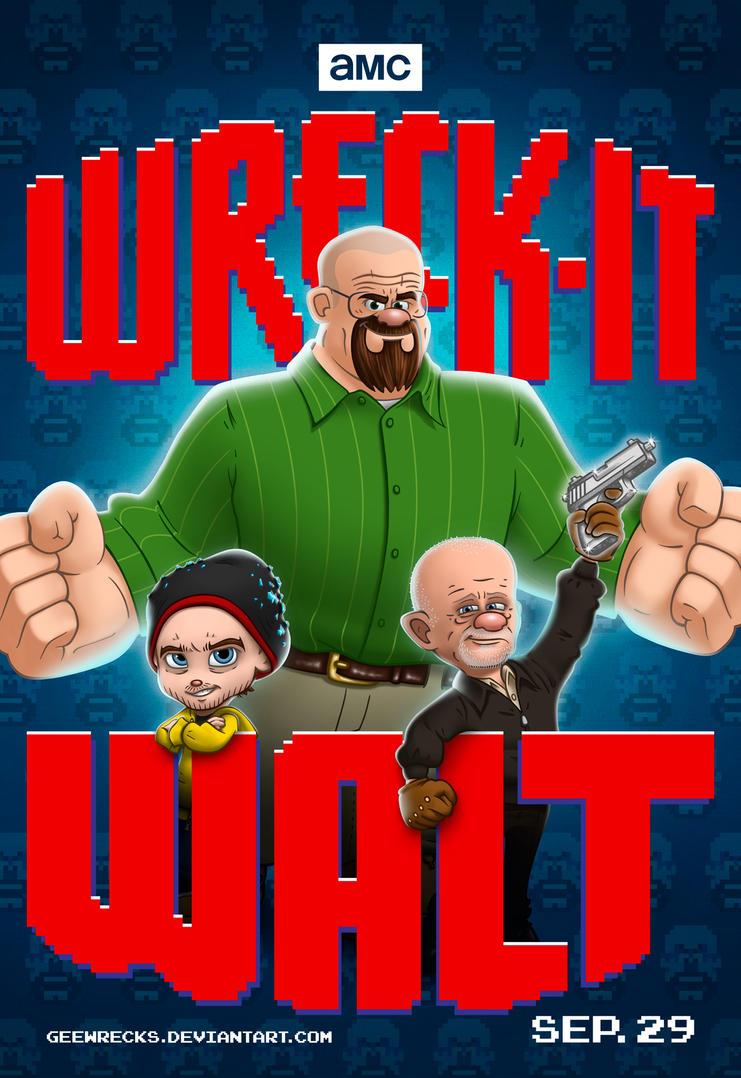 Wreck-It Walt by Geewrecks