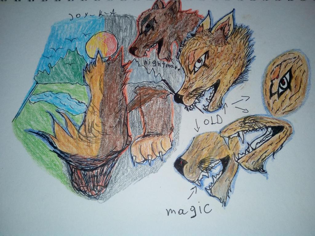 wolf trigger by joy K A by joy-K-A