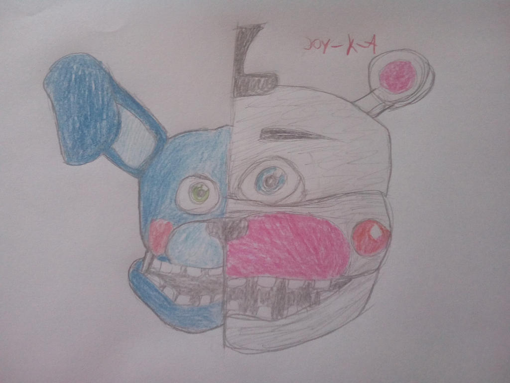 bon bon and funtime freddy by joyka by joy-K-A