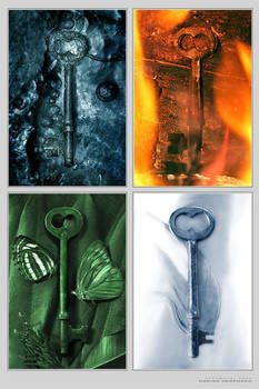 Elemental Keys - Print