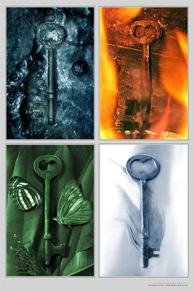 Elemental Keys - Print by nighty