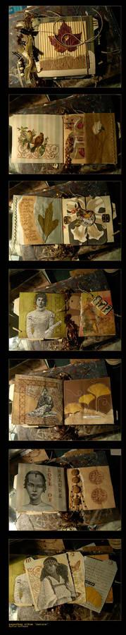 Paper bag Art album - Nature