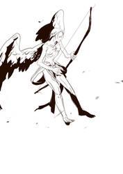 Feather man by duluxu