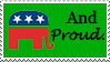 Republican stamp by GangsterMuffin