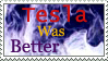 Tesla stamp by GangsterMuffin