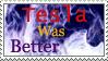 Tesla stamp by GangsterMuffin