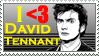 David Tennant Love Stamp by GangsterMuffin