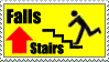 Falls Up Stairs by GangsterMuffin