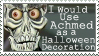 Achmed for Halloween Stamp by GangsterMuffin