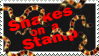 Snakes on a Stamp Stamp by GangsterMuffin
