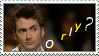 David tennant O rly Stamp by GangsterMuffin