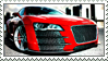 Audi R8 Stamp by GangsterMuffin