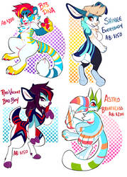 K-pop adopts by Kiweeroo