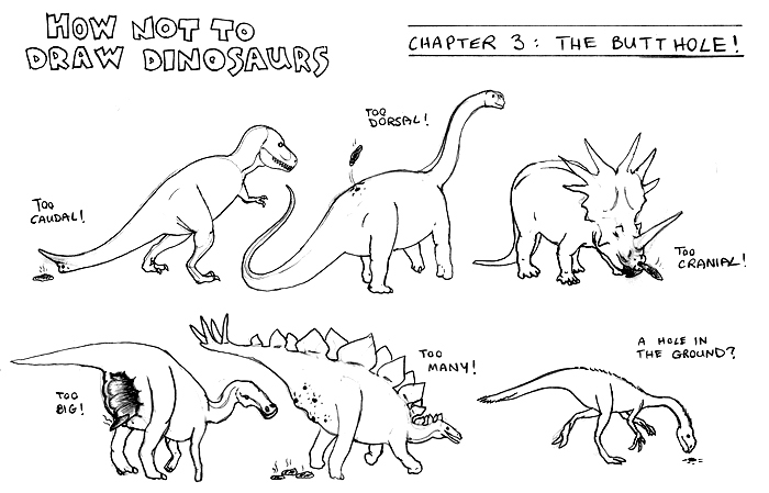 How not to draw dinosaurs by brad ysaurus