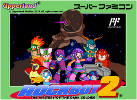 Rockbot 2 - Famicom style cover