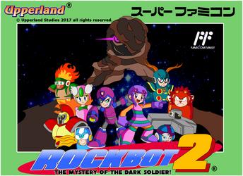 Rockbot 2 - Famicom style cover by protomank