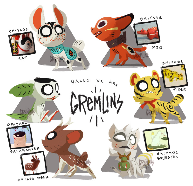 omiyage gremlin =over!= by porkbun