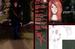 Deathbelle(Creepypasta OC Ref) by DevLelsweg