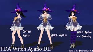 TDA Witch Ayano DL by KarlineLeRandom